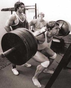 Арнольд Шварценеггер. Тренировка ног